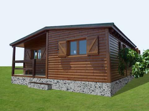 Macieira novo habitat casas de madeira e modulares for Casas de madera jardin baratas
