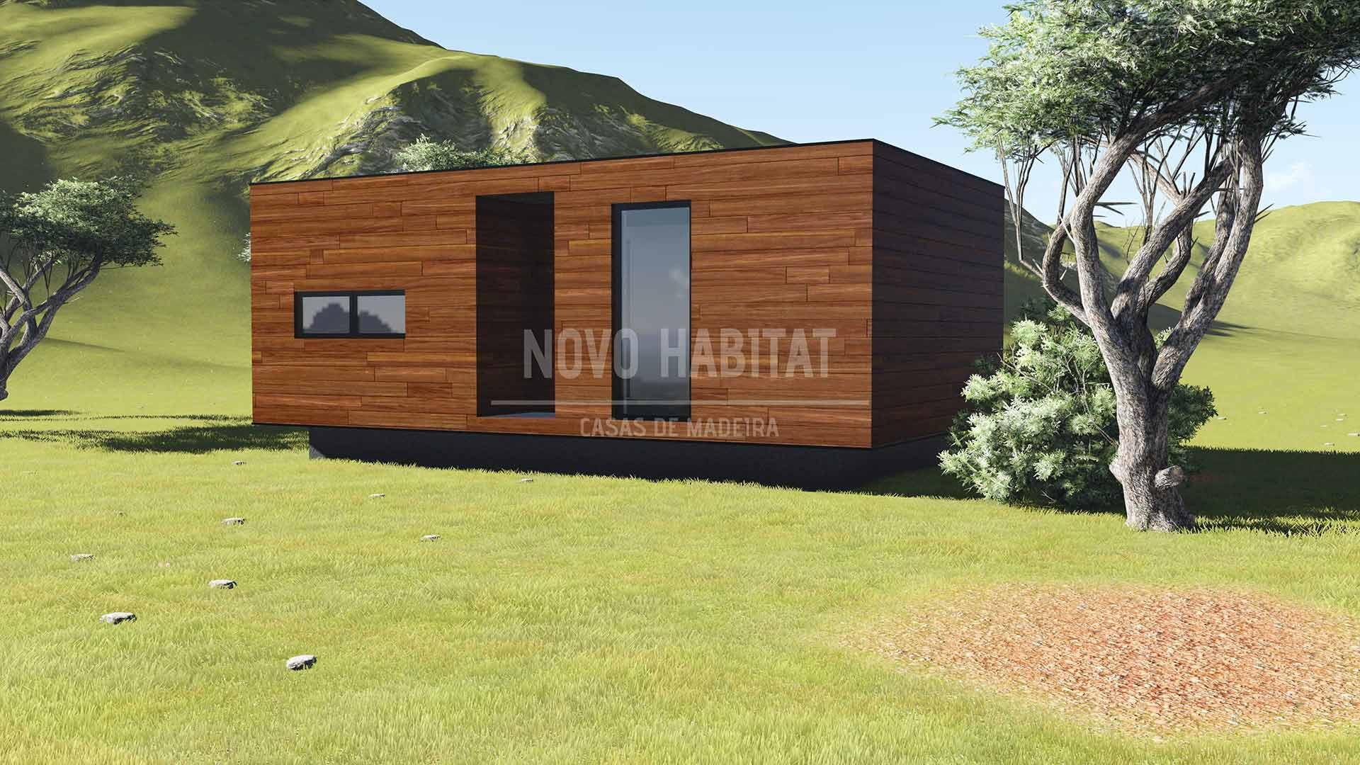 Mafra novo habitat casas de madeira e modulares sua - Casas de madera portugal ...
